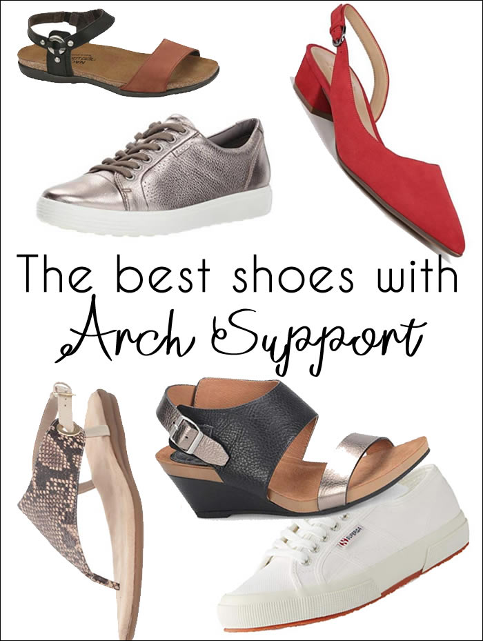 baed8a7d4f0 The best shoes with arch support - comfortable walking shoes