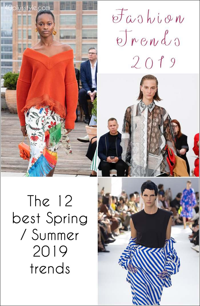 Fashion trends spring 2019: 12 of best Spring trends for women over 40 | 40plusstyle.com