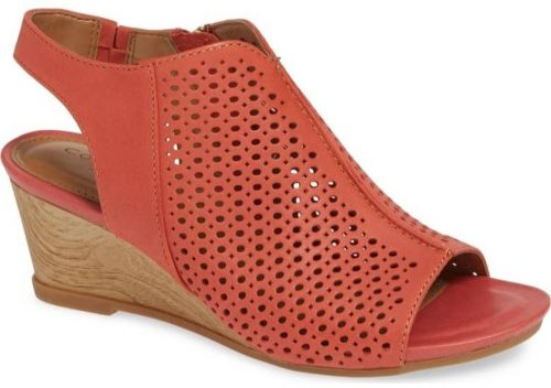 comfortable and stylish coral shoes for summer | 40plusstyle.com