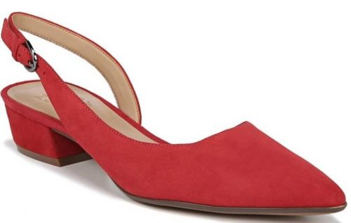 Stylish red shoes | 40plusstyle.com