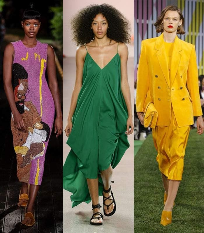 The best colors for spring 2019 – take your pick of 16 bright and muted colors