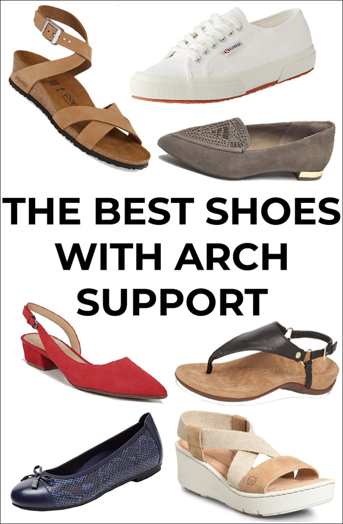 The best shoes with arch support - comfortable walking shoes | 40plusstyle.com