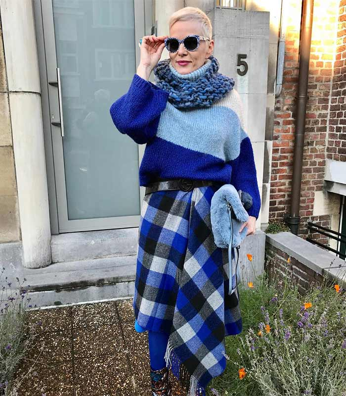 #40plusstyle Inspiration: 25 ways to style your winter sweater