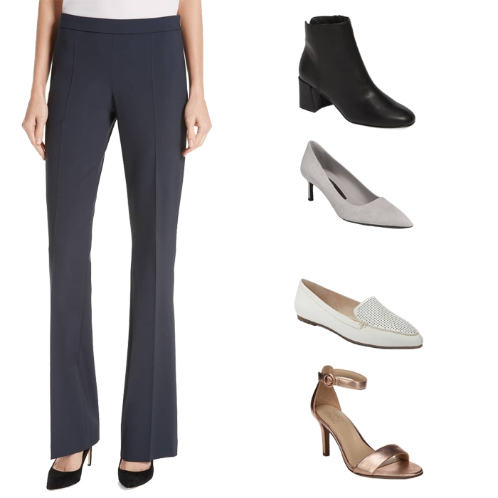 e76e298bbd5 What shoes to wear with different styles of pants