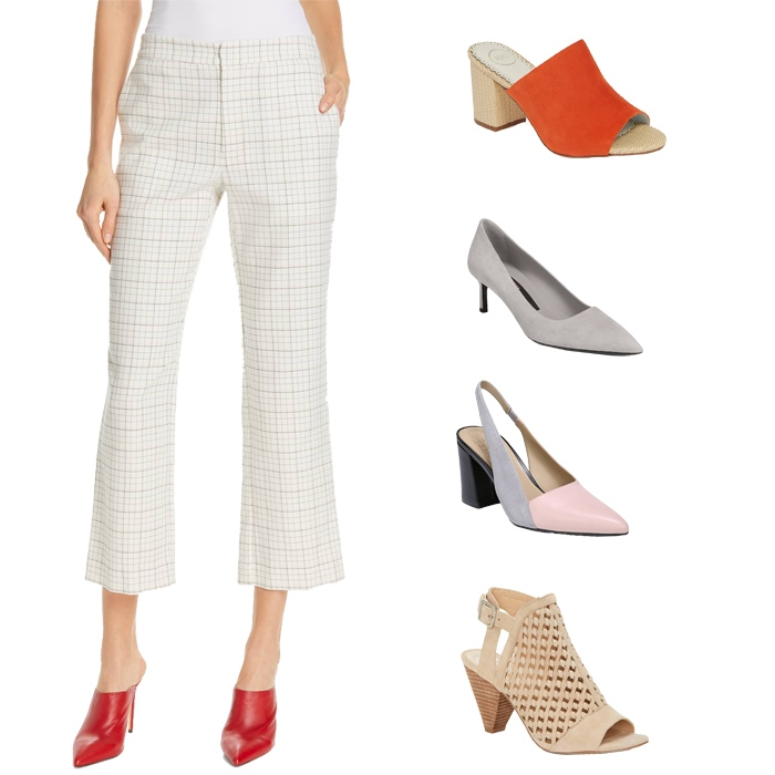 Cropped flared pants | fashion over 40 | style | fashion | 40plusstyle.com
