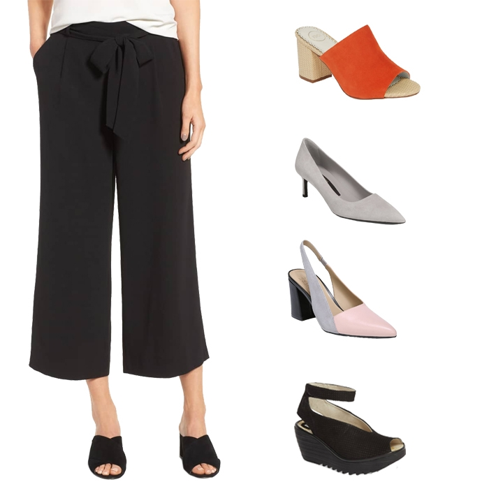 Cropped wide leg pants | fashion over 40 | style | fashion | 40plusstyle.com