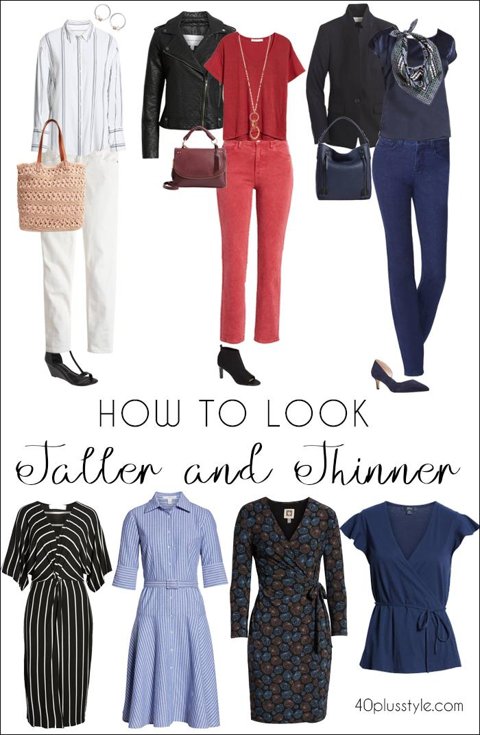 How to look taller and thinner | fashion over 40 | style | fashion | 40plusstyle.com