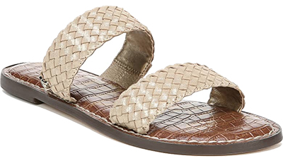 Gold women's sandals   fashion over 40   style   fashion   40plusstyle.com