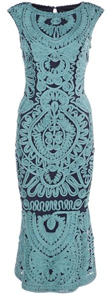 JS Collections - Soutache Mesh Dress   fashion over 40   style   fashion   40plusstyle.com