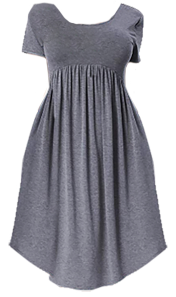 Empire waist dress   fashion over 40   style   fashion   40plusstyle.com