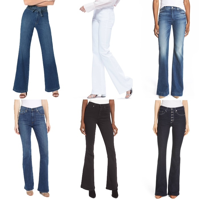 Wear jeans with aflare or a bootcut | fashion over 40 | style | fashion | 40plusstyle.com