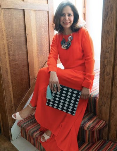 How to wear orange | 40plusstyle.com