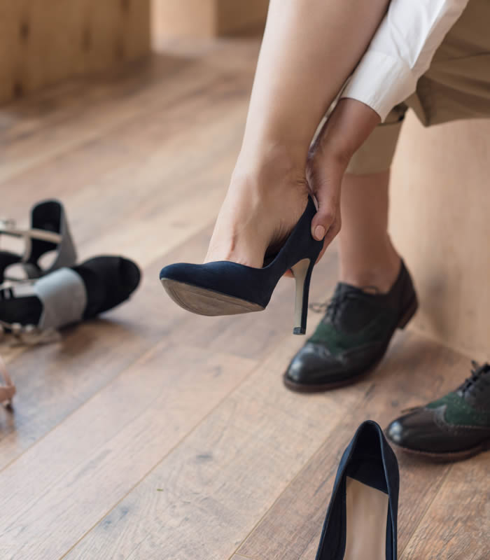 The best shoes to wear when you have bunions