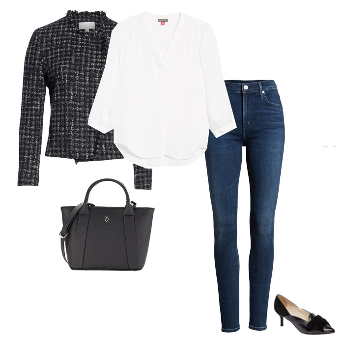 Black outfit for petite women | fashion over 40 | style | fashion | 40plusstyle.com