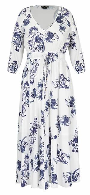 dress to hide tummy   40plusstyle.com
