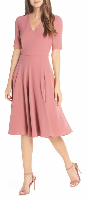 fit and flare dress | 40plusstyle.com
