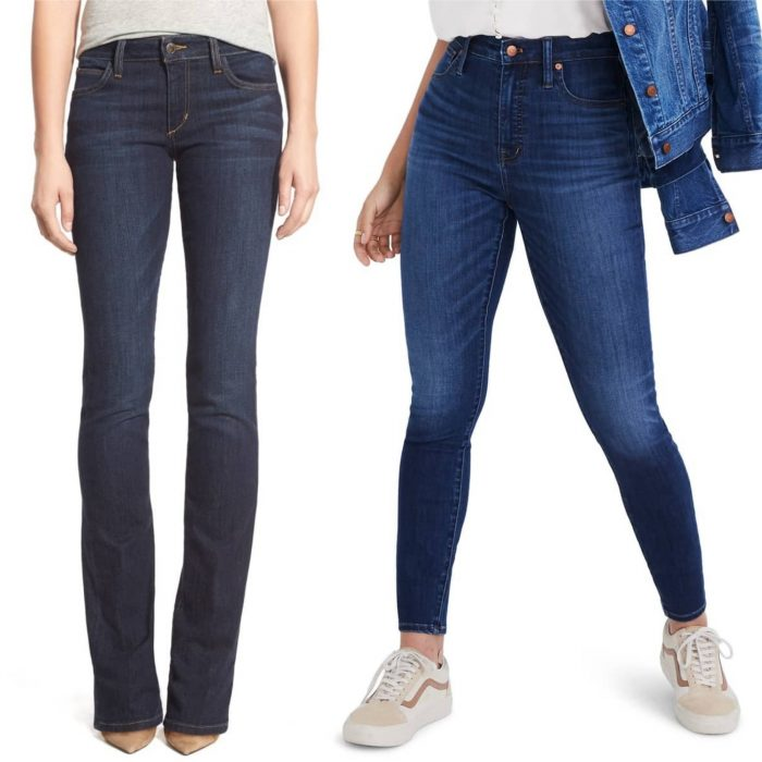 the best jeans if you have an hourglass figure | 40plusstyle.com
