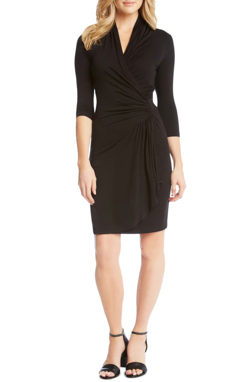 Classic wrap dress styles for women over 40 | 40plusstyle.com