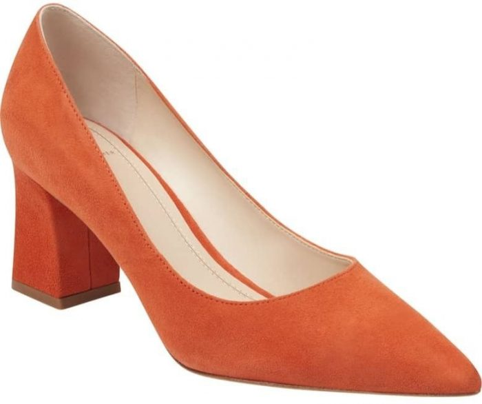 adding orange to an outfit | 40plusstyle.com