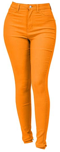 Lover Brand Fashion high waist jeans | 40plusstyle.com