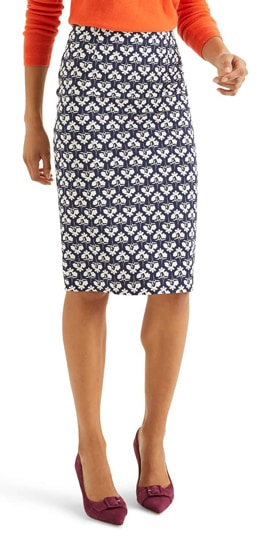 pencil skirt | 40plusstyle.com