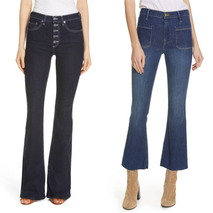the best jeans if you have a rectangle body type | 40plusstyle.com