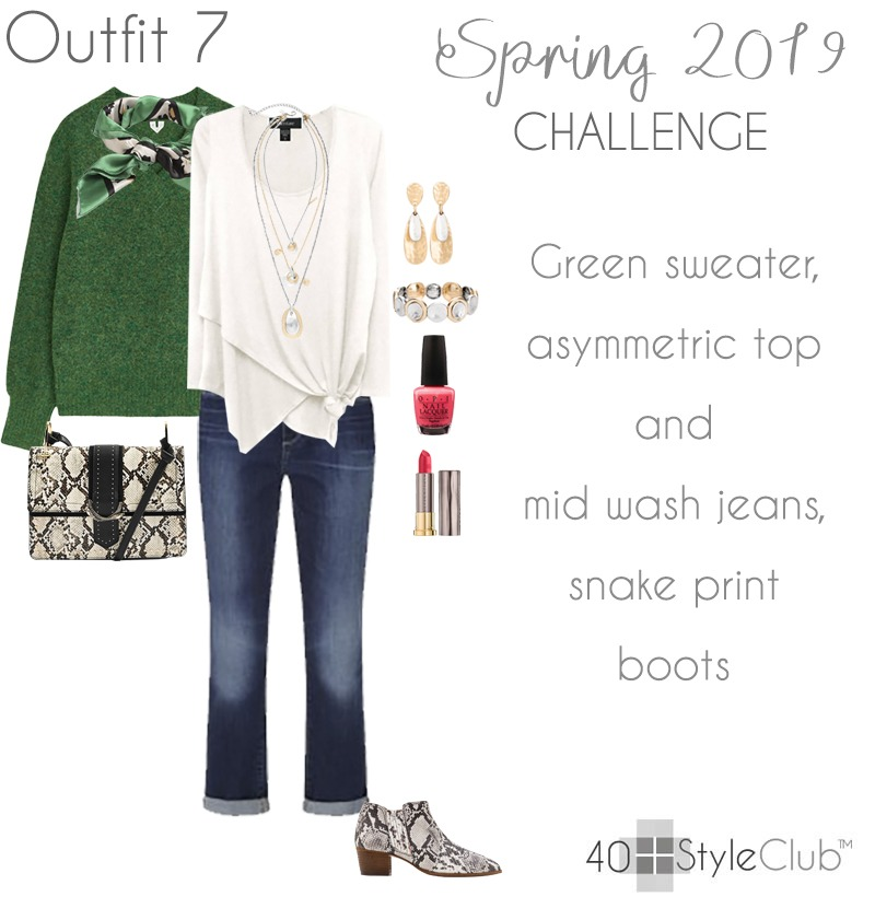 Spring 2019 capsule wardrobe challenge at the 40+Style Club - Join us today! | 40plusstyle.com