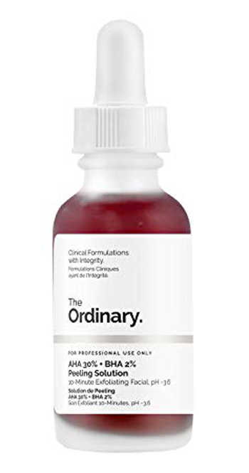The Ordinary Peeling Solution | 40plusstyle.com