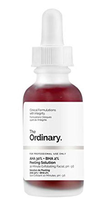 The Ordinary Peeling Solution | 40plusstyle.com