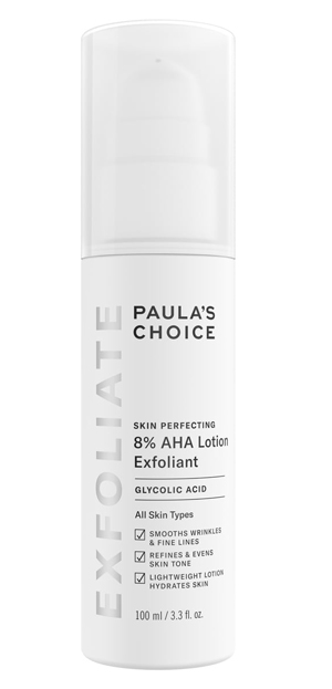 Skin Perfecting 8% AHA Lotion Exfoliant | 40plusstyle.com