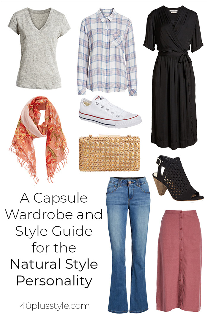 A Capsule Wardrobe & Style Guide for the Natural Style Personality   40plusstyle.com