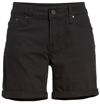 Black denim shorts | fashion over 40 | style | fashion | 40plusstyle.com