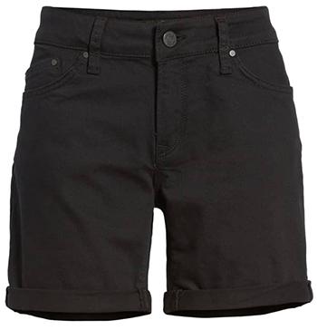Black denim shorts | fashion over 40 | style | fashion | 40plusstyle.com