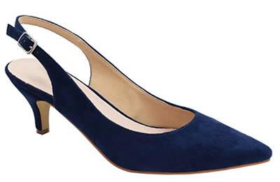 Comfortable Heels - Greatonu Womens Slingback Dress Pump | 40plusstyle.com