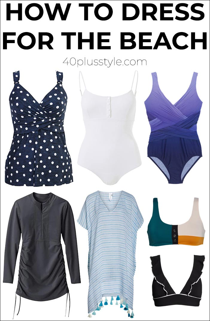 How to dress for the beach | fashion over 40 | style | fashion | 40plusstyle.com