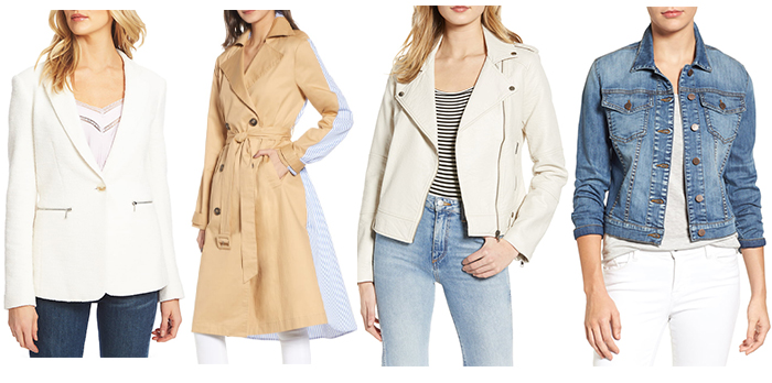 Coats and Jackets for the rectangle body shape | 40plusstyle.com