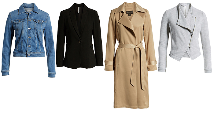 Jackets & Coats to suit the natural style personality | 40plusstyle.com