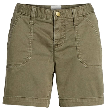 Khaki shorts for women | fashion over 40 | style | fashion | 40plusstyle.com