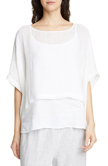 layered tops for vacation | 40plusstyle.com