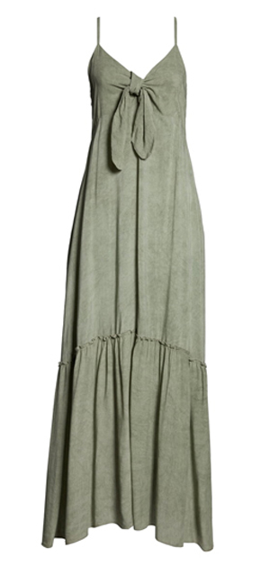 Maxi cover-up dress for a cruise | 40plusstyle.com