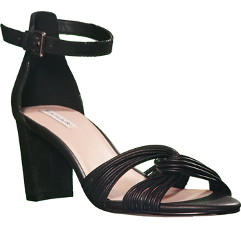 block heel sandals for cruise formal night | 40plusstyle.com