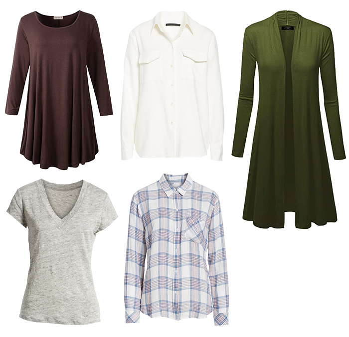 Tops for the natural style personality   40plusstyle.com