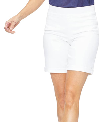 White denim shorts | fashion over 40 | style | fashion | 40plusstyle.com
