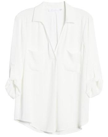 double pocket shirt | 40plusstyle.com