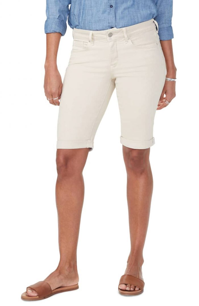 bermuda shorts for women over 40 | fashion over 40 | style | fashion | 40plusstyle.com