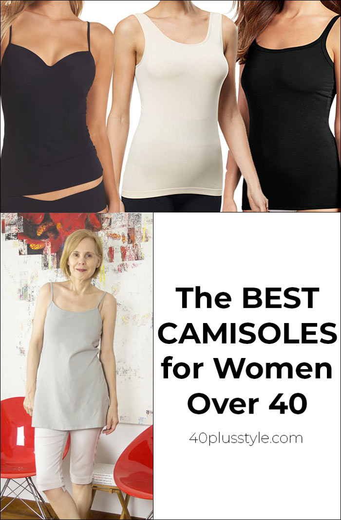 best camisoles for women over 40 | 40plusstyle.com