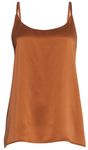 Eileen Fisher silk camisole | 40plusstyle.com