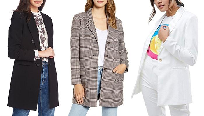 Extra long blazers | 40plusstyle.com