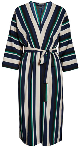French Connection multi stripe dress | 40plusstyle.com