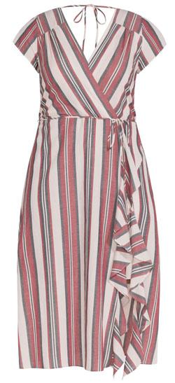 City Chic wrap dress | 40plusstyle.com